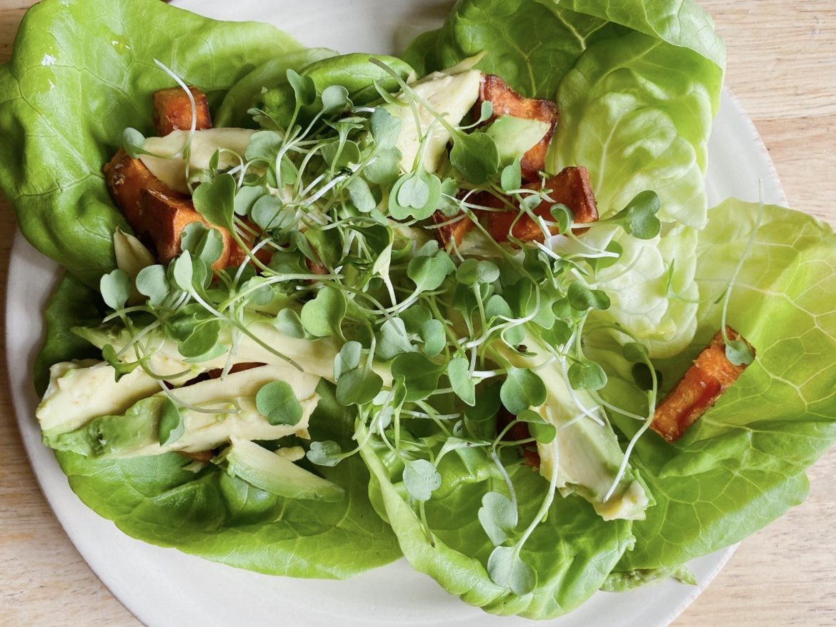healthy lettuce wrap recipe